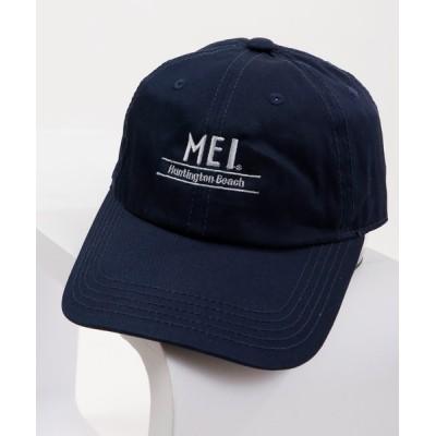 FUNALIVE / 【MEI】ワンポイントロゴ ベースボールキャップ ローキャップ MEN 帽子 > キャップ