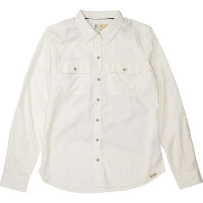エクスオフィシオ ExOfficio レディース ブラウス・シャツ トップス BugsAway Breccia LS Shirt White