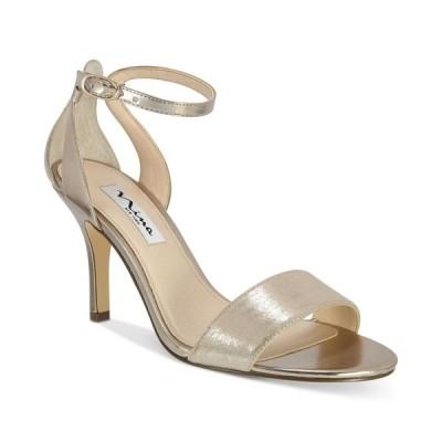 ニナ Nina レディース サンダル・ミュール シューズ・靴 Venetia Ankle-Strap Evening Sandals Taupe