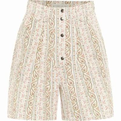 エトロ Etro レディース ショートパンツ ボトムス・パンツ paisley high-rise cotton shorts