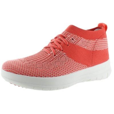 アスレチックシューズ フィット フロップ FitFlop Uberknit Women's High Top Slip On Sneaker Shoes