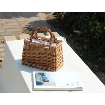 新作 バッグ カバン かごバッグ バスケット ハンドルバッグ ストローバッグ ピクニック