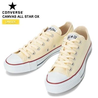 コンバース CONVERSE キャンバス オールスターオックス ホワイト  コアカラー  M9165 CANVAS ALL STAR OX  正規取扱店