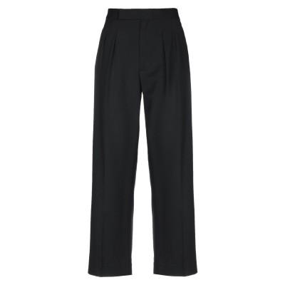 POLO RALPH LAUREN パンツ ブラック 4 ウール 100% パンツ