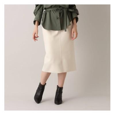 【アクアガール/aquagirl】 ジャージメルトンタイトスカート