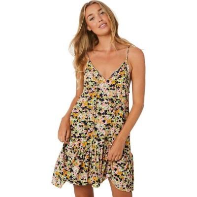 リュー スティック Rue stiic レディース パーティードレス ミニ丈 ワンピース・ドレス sutton mini dress Monet floral light