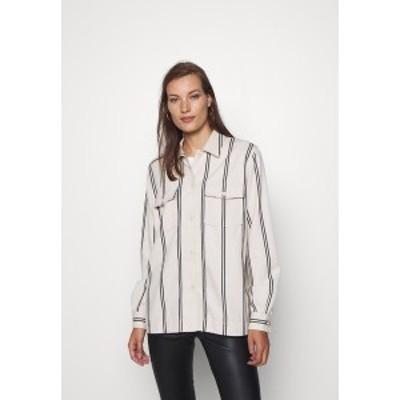 サムスサムス レディース シャツ トップス LULLA - Button-down blouse - warm white warm white