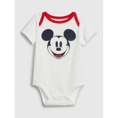 Babygap   Disney Mickey Mouse ボディシャツ