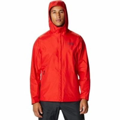 マウンテンハードウェア Mountain Hardwear メンズ レインコート レインジャケット アウター Acadia Jacket Fiery Red