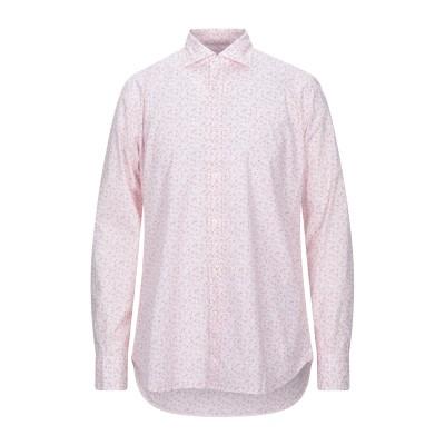 CALIBAN 820 シャツ ピンク 40 コットン 100% シャツ