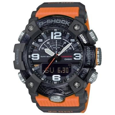 G-SHOCK ジーショック マスターオブG マッドマスター Bluetooth GG-B100-1A 腕時計 オレンジ ブラック 黒 逆輸入海外モデル