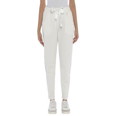 FLY GIRL パンツ ホワイト XS コットン 100% パンツ