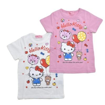 送料無料♪ハローキティ  半袖Tシャツ 100cm-130cm (142KT0021)