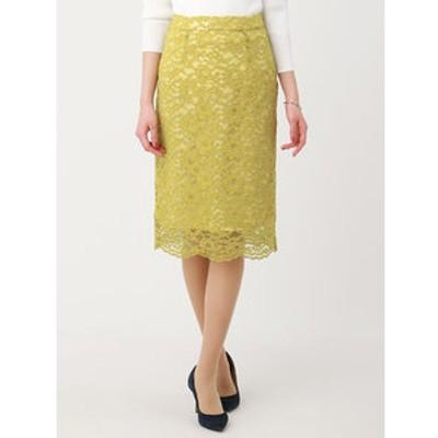 【Littlechic】フラワーコードレースタイトスカート