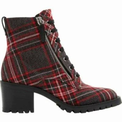 アルド ブーツ Abauvia Combat Boot Grey Plaid Polyester