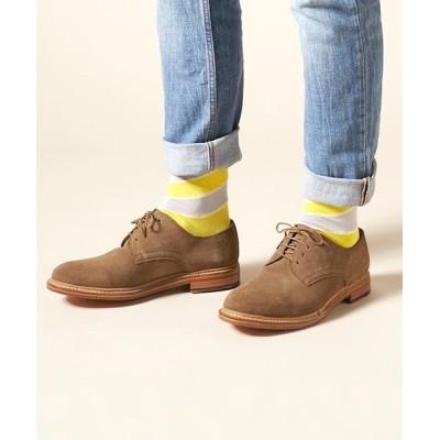 ANDEX shoes product / London Shoe Make / ロンドンシューメイク ≪グッドイヤーウェルト製法≫ スエード 外羽根プレーントゥ 605 MEN シューズ > ドレスシューズ