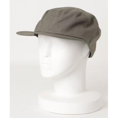 salle de bal / :コットンリネンフラットバイザー WOMEN 帽子 > キャスケット