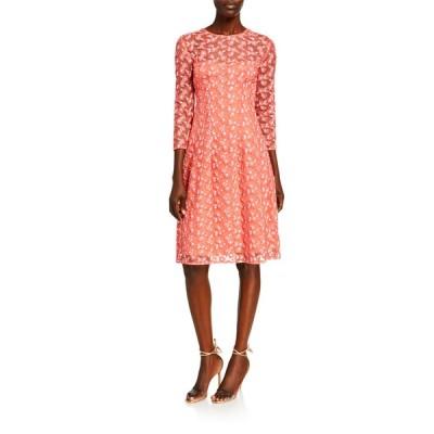 リラローズ レディース ワンピース トップス Holly Floral Embroidered Tulle Dress