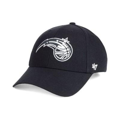 47ブランド メンズ 帽子 アクセサリー Orlando Magic Black White MVP Cap
