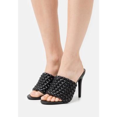 レディース 靴 シューズ TANYA - Heeled mules - black