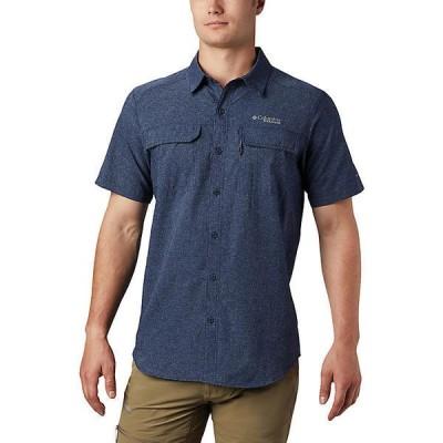 (取寄)コロンビア メンズ イリコ ショートスリーブ シャツ Columbia Men's Irico SS Shirt Collegiate Navy