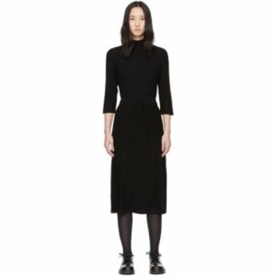 アーペーセー A.P.C. レディース ワンピース ワンピース・ドレス Black Wool Vivianne Dress Black