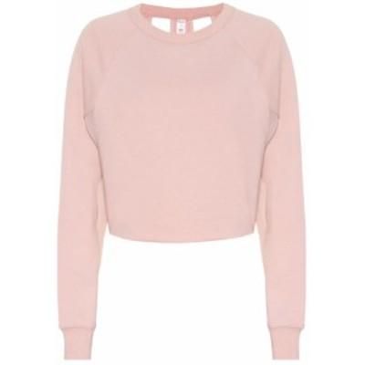 アローヨガ Alo Yoga レディース ニット・セーター トップス Double Take cotton-blend sweater pale mauve
