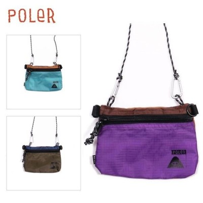 POLER/ポーラー STUFFABLE POUCH LARGE/ポーチ(大)・3color