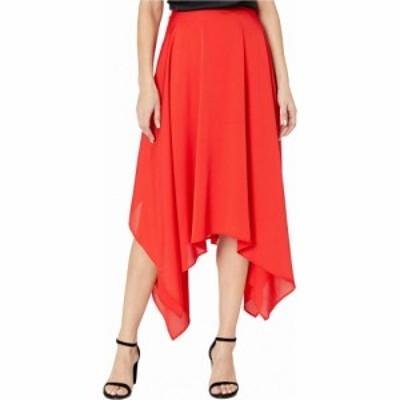 ビーシービージーマックスアズリア BCBGMAXAZRIA レディース スカート Handkerchief Hem Skirt Rosso