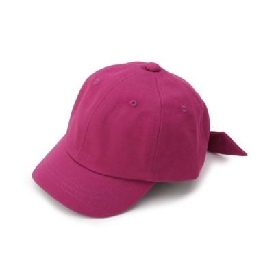 THE SHOP TK / ママとおそろい!後ろリボンキャップ KIDS 帽子 > キャップ