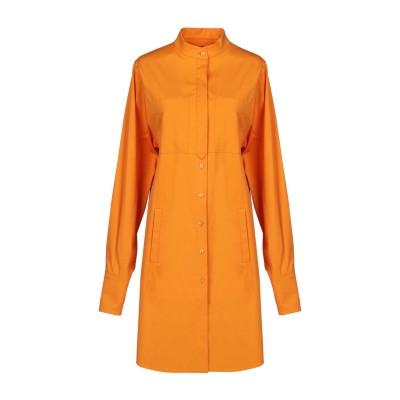 アルベルタ フェレッティ ALBERTA FERRETTI ミニワンピース&ドレス オレンジ 42 97% コットン 3% ポリウレタン ミニワンピ