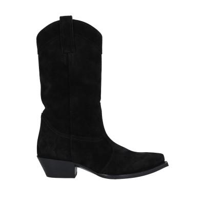 SAINT LAURENT ブーツ ブラック 35.5 革 ブーツ