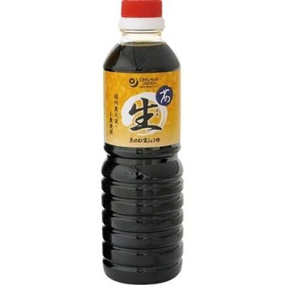 オーサワ 茜生醤油 (500ml)