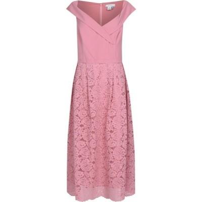 オアシス Oasis レディース パーティードレス ワンピース・ドレス Curve Lace Skirt Bridesmaid Dress Pale Pink