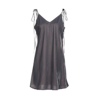メルシー ..,MERCI ミニワンピース&ドレス グレー 44 ポリエステル 100% ミニワンピース&ドレス