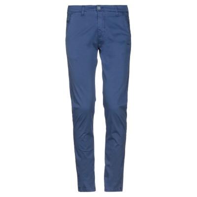 EXCLUSIVE パンツ ブルー 30 コットン 97% / ポリウレタン 3% パンツ