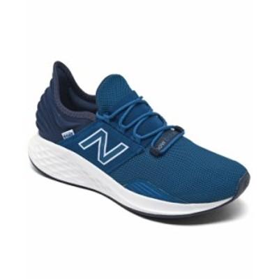 ニューバランス メンズ スニーカー シューズ Men's Fresh Foam Roav Running Sneakers from Finish Line Blue