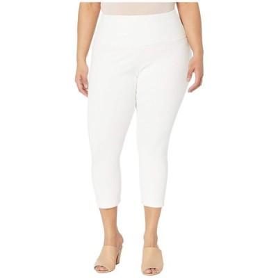 リセ Lysse レディース ジーンズ・デニム 大きいサイズ ボトムス・パンツ Plus Size Denim Capri White