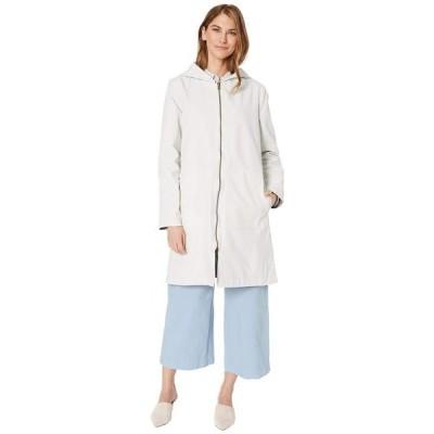 エイリーンフィッシャー レディース コート アウター Petite Organic Cotton Nylon Outerwear Hooded Jacket
