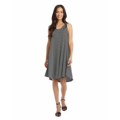カレンケーン ワンピース トップス レディース Sleeveless High-Low Dress Stripe
