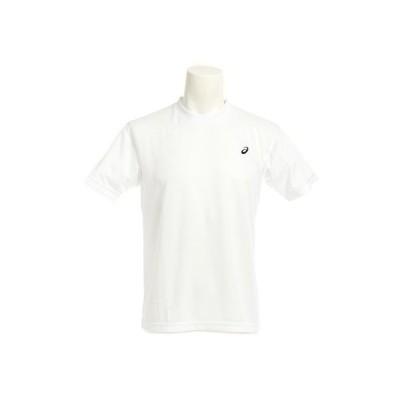 アシックス(ASICS) ワンポイントTシャツ EZX926.0190 半袖 オンライン価格 (メンズ)