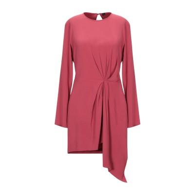 テッサ .TESSA ミニワンピース&ドレス パステルピンク 40 レーヨン 99% / ポリウレタン 1% ミニワンピース&ドレス