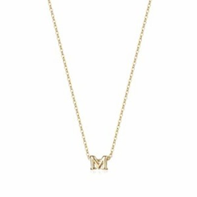 ネックレス 小さなイニシャルネックレス 14Kゴールドメッキ 上品なレターネックレス 繊細な小さなイニシャルネックレス パーソナライズさ