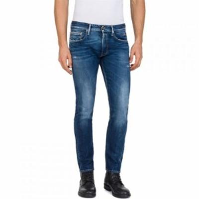 リプレイ Replay メンズ ジーンズ・デニム ボトムス・パンツ Slim Fit Ronas Stretch Jeans Denim