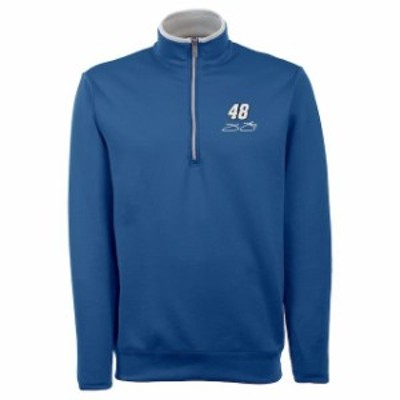 Antigua アンティグア スポーツ用品  Antigua Jimmie Johnson Royal Leader Quarter-Zip Jacket