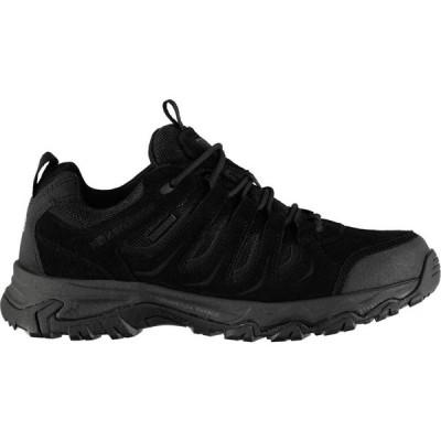 カリマー Karrimor メンズ ランニング・ウォーキング シューズ・靴 Mount Low Walking Shoes Black/Black