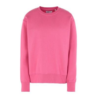 COLORFUL STANDARD スウェットシャツ ピンク XS オーガニックコットン 100% スウェットシャツ
