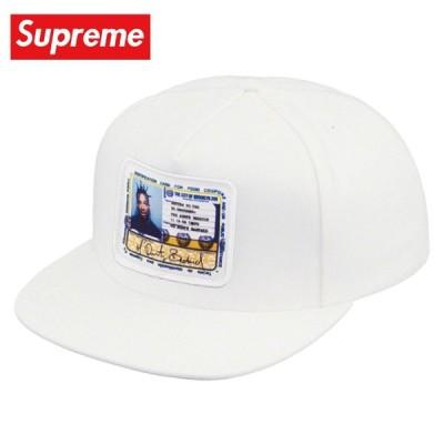 Supreme シュプリーム Ol' Dirty Bastard 5-Panel キャップ 帽子 White ホワイト 2019年春夏