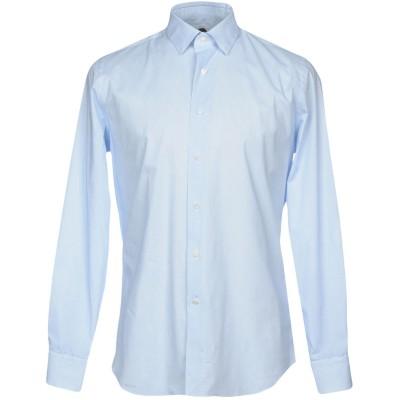 バグッタ BAGUTTA シャツ ブルー 44 コットン 97% / ポリウレタン 3% シャツ