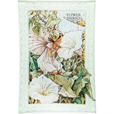 フラワーフェアリーズ ガラストレー <グリーン> 妖精 ボタニカル イギリス 雑貨